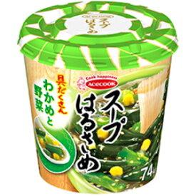 クーポン配布中★エースコックスープはるさめ わかめと野菜21g×6カップ入 (スープ春雨)