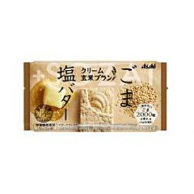 アサヒフードクリーム玄米ブランごま&塩バター72g×6個入