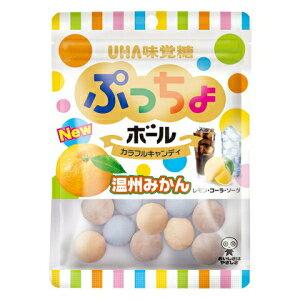 エントリー&リピート購入で最大1000ポイント★味覚糖55gぷっちょボール カラフルアソート6袋入