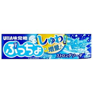 クーポン配布中★味覚糖10粒ぷっちょ ストロングソーダ10本入