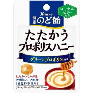 クーポン配布中★カンロ健康のど飴たたかうプロポリスハニー コンパクトサイズ26g×6袋入 (キャンディ)