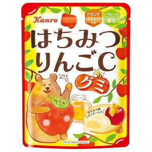 クーポン配布中★カンロ52gはちみつりんごCグミ6袋入