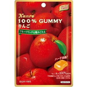 カンロ100%グミ りんご45g×6袋入