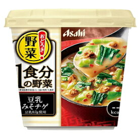 アサヒフードおどろき野菜 1食分の野菜豆乳みそチゲ25.9g×6入