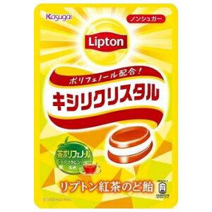 春日井製菓キシリクリスタル リプトン紅茶のど飴57g×6袋入 (キャンディ)