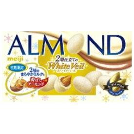 明治 アーモンドチョコレートホワイトベール40g×10箱入