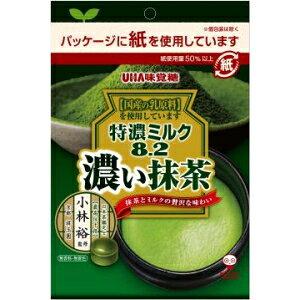 味覚糖75g特濃ミルク8.2 抹茶6袋入
