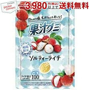 明治47g夏の果汁グミ ソルティーライチ10袋入