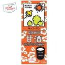 キッコーマン飲料豆乳飲料 甘酒200ml紙パック 18本入(あまざけ あま酒)