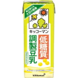 キッコーマン飲料低糖質 調製豆乳200ml紙パック 18本入