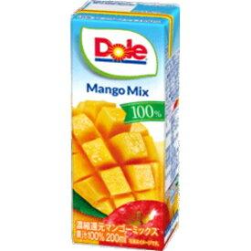 DOLE ドールマンゴーミックス100% 200ml紙パック 18本入 (果汁100%)