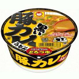 東洋水産 マルちゃん42g黒いまめ豚カレーうどん(ミニ)12食入