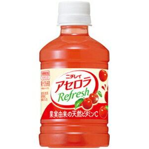 ニチレイアセロラリフレッシュ280mlペットボトル 24本入〔Refresh サントリー〕