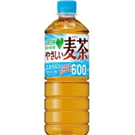サントリー【自動販売機用600mlサイズ】GREEN DA・KA・RA(グリーンダカラ)やさしい麦茶600mlペットボトル 24本入