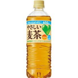サントリーGREEN DA・KA・RA(グリーンダカラ)やさしい麦茶650mlペットボトル 24本入(ダカラ DAKARA 果実 ミネラル 水分補給)(スポーツドリンク)(熱中症対策)