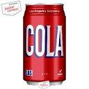 富永貿易 神戸居留地Lasコーラ350ml缶 24本入 [cola]