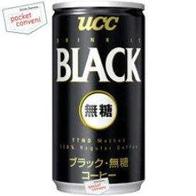 クーポン配布中★UCC ブラック無糖185g缶 30本入 (BLACK無糖)
