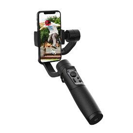 【ブレずにスマホ撮影】 3-AXIS HANDHELD STABILIZING GIMBAO FOR SMARTPHONE スマートフォン用 3軸 手持ちジンバル スタビライザー ジンバル スマホ 軽量 動画撮影 Bluetooth ワイヤレス パノラマ撮影 YouTube