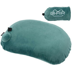 キャンプ枕 ポンプ内蔵エアピロー アウトドア ピロー 携帯枕 エアーピロー