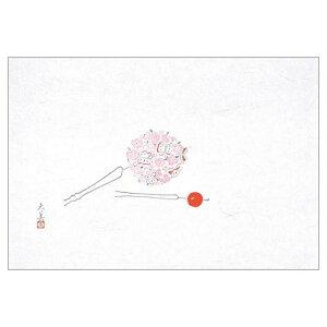 マイン MIN 四季紙 萬寿 花かんざし 100枚入 M33-104