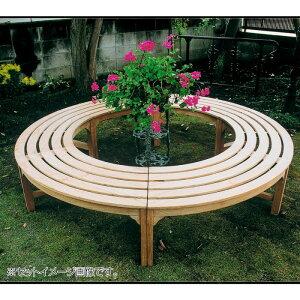 公園 ベンチ ガーデンベンチ 屋外 ラウンドベンチ 樹木 ベンチ 公園ベンチ