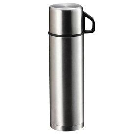 コップ付き ステンレス水筒 シンプル コップ付き水筒 おしゃれ 500