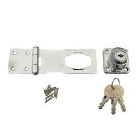 掛金錠 鍵つき掛金錠 鍵付き掛金錠 ドア 後付け 鍵 防犯 3本キー