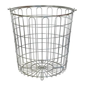 洗濯カゴ おしゃれ ステンレス メッシュ 洗濯かご ランドリーバスケット