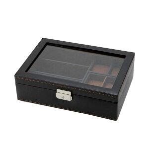 アクセサリーケース メンズ 時計 小物収納ボックス おしゃれ 小物入れ メンズ
