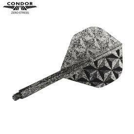 CONDOR フライト Pyramid スタンダードM スモークシルバー ラメグリッター