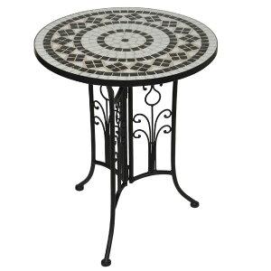 テラス テーブル ベランダ テーブル アイアン ガーデンテーブル おしゃれ