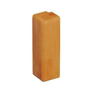 手すり補強板 BAUHAUS ベースプレート用木製カバー 出隅用 100mm用 BH-24MO Mオーク 040-2393