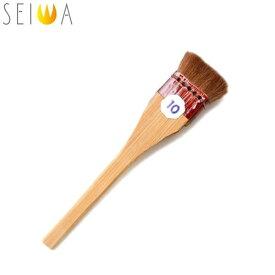 誠和 SEIWA/セイワ レザークラフト 馬毛すり込刷毛 10号