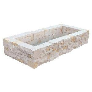 花壇ブロック 置くだけ 花壇の作り方 初心者 花壇 おしゃれ 花壇 レイアウト