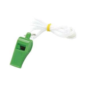 銀鳥産業 ギンポー カラーホイッスル 緑 20個セット YO-CWGF