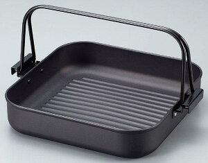 焼肉鍋 焼き肉 鉄 角型焼肉プレート 角型すき焼き鍋 26cm すき焼き鍋