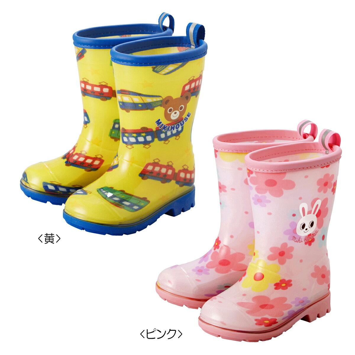 [ノベルティ対象]ミキハウス mikiHOUSEプッチー&うさこ☆レインブーツ(長靴)(13cm-17cm)【10-9462-611】【ラッキーシール対応】