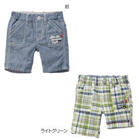 ダブルビー mikihouse DOUBLE_B コットンリネン6分丈パンツ(140cm) 【62-3106-264】