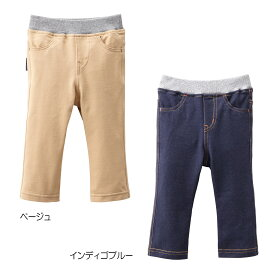 ミキハウス デニム風ストレッチパンツ Every Day mikihouse 80cm-130cm 10-3233-976【ラッキーシール対応】 VSI