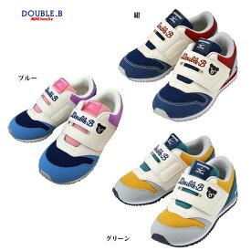 ダブルビー シューズ mロゴ ミズノ コラボ double_b (16cm-21cm)【61-9402-826】new10