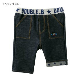 ダブルビー ミキハウス DOUBLE_B mikihouse 7分丈パンツ (70cm・80cm・90cm)【62-3201-978】 SSSnew10