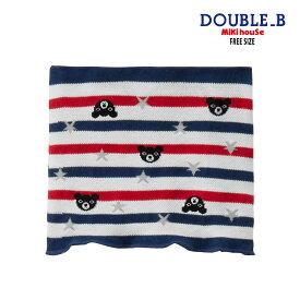 【楽天スーパーセール】【セール10%OFF】ダブルB DOUBLEB ボーダーメッシュはらまき【62-9802-263】 stcp 20ws