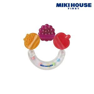 ミキハウス 歯がため フルーツ (3ヶ月から)mikihouse 46-1214-671 【1Lgift】 【Lgift】