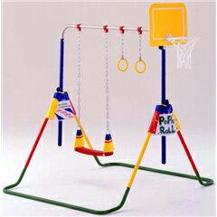 子供用 鉄棒ブランコ ポップンロール(室内・屋外)JOB