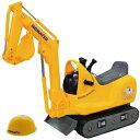 トイコーTOYCO 乗用マイクロショベル コマツPC−01(ヘルメット付)(ベビー足けり 乗用玩具 自動車)