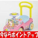 【今ならポイントアップ 〜6/21 1:59まで】(ベビー足けり 乗用玩具 自動車)  わくわくハローキティα
