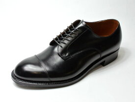 【LIMITED-EDITION FOR ALDEN SHOES NY】#558・Modified Cap Toe/ Black Calfskin / キャップトゥ・カーフスキン・モディファイドラスト/ブラック (オールデン・ニューヨークストア限定レアモデル・国内未発売!)