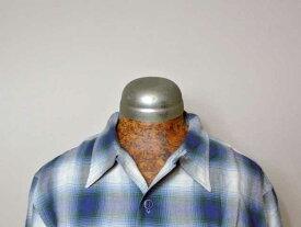 【RRL&CO./ダブルアールエル】Plaid Cotton-Blend Workshirt/コットン-レーヨン混紡・オンブレチェック・ワークシャツ (50s・ロカビリー・ヴィンテージ・ミリタリー)