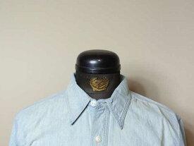 【RRL&CO./ダブルアールエル】Cotton Chambray Workshirt/コットン・シャンブレー・ワークシャツ (ヴィンテージ・ミリタリー)