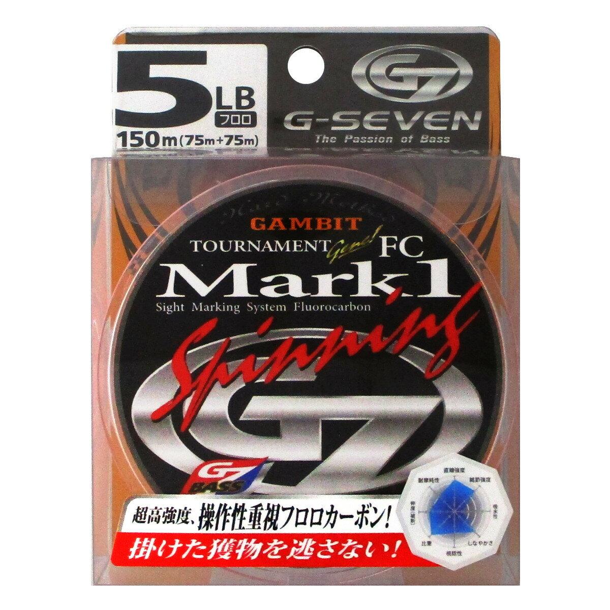 ラインシステム G7 トーナメントジーン MARK1 スピニング G3150A 150m 5lb(東日本店)
